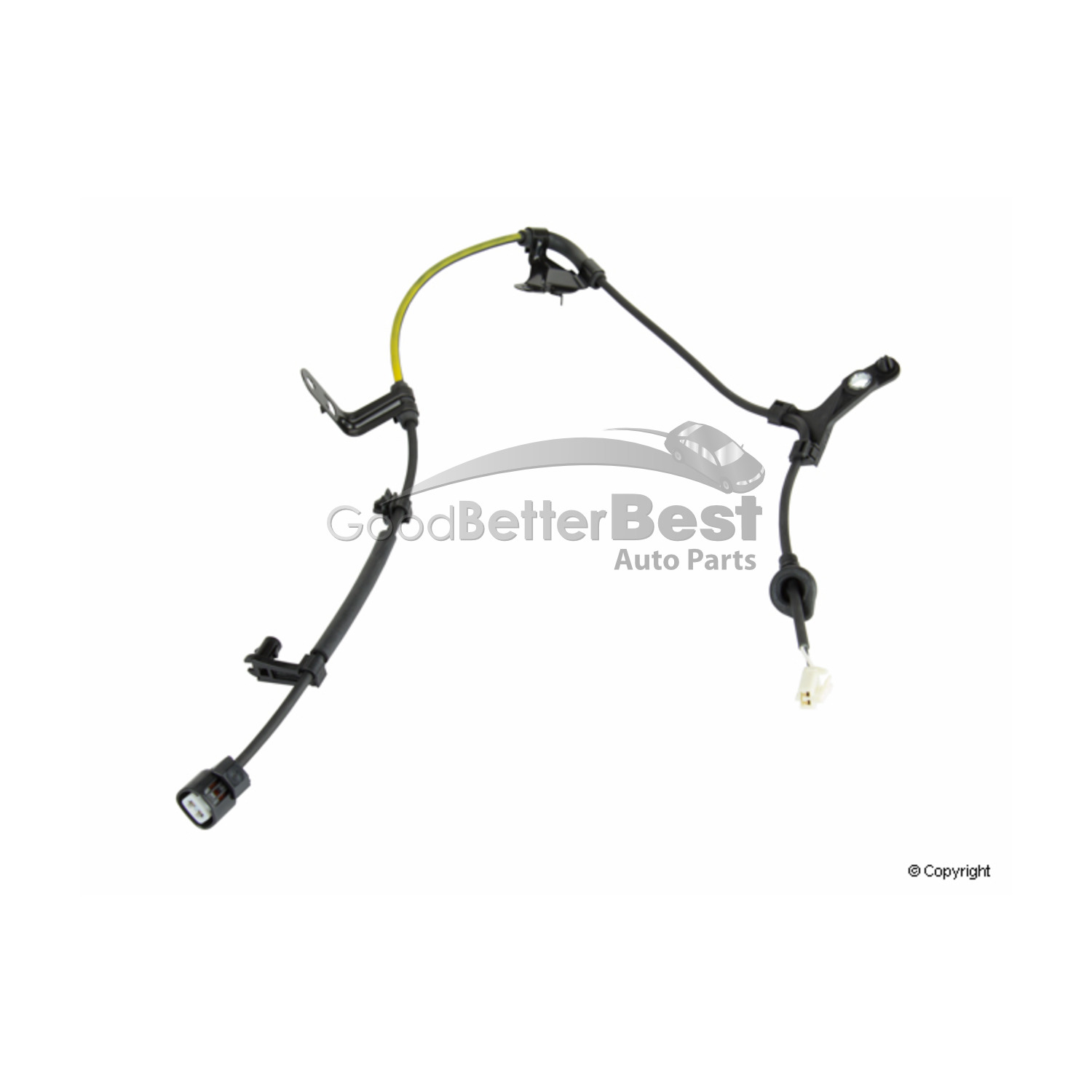 One New Genuine Abs Wheel Speed Sensor Wiring Harness Rear
