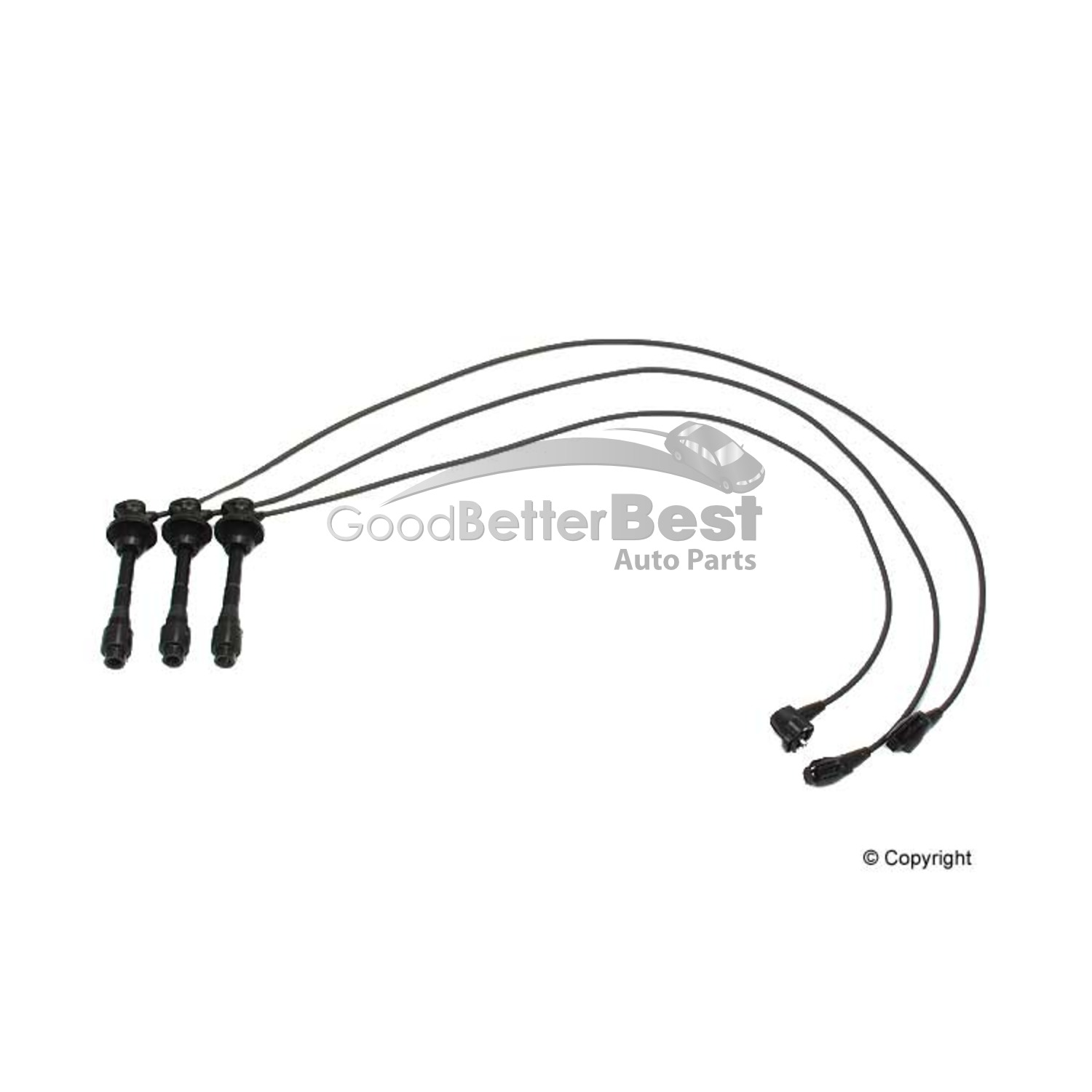 New Opparts Spark Plug Wire Set 35pf For