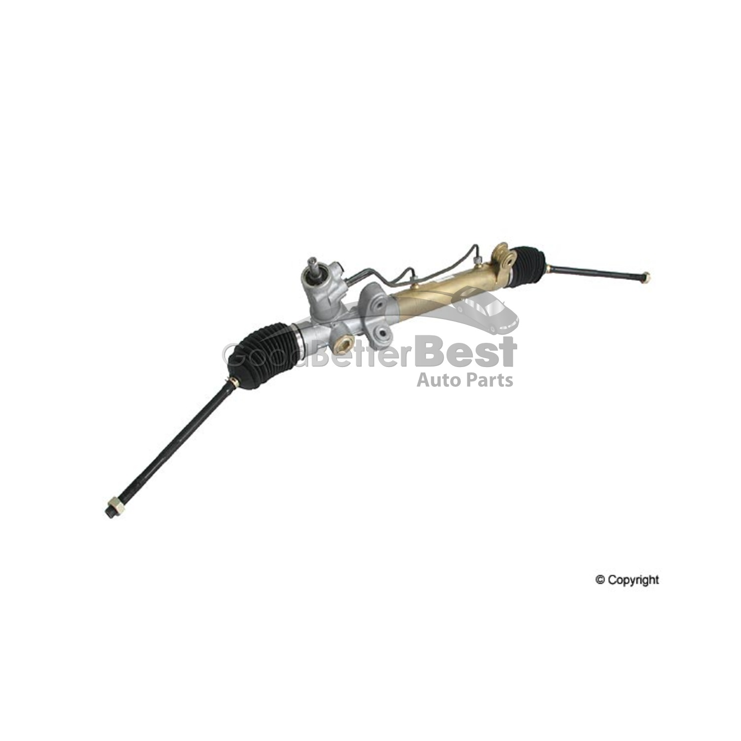 One Parts Mall Rack And Pinion Assembly For