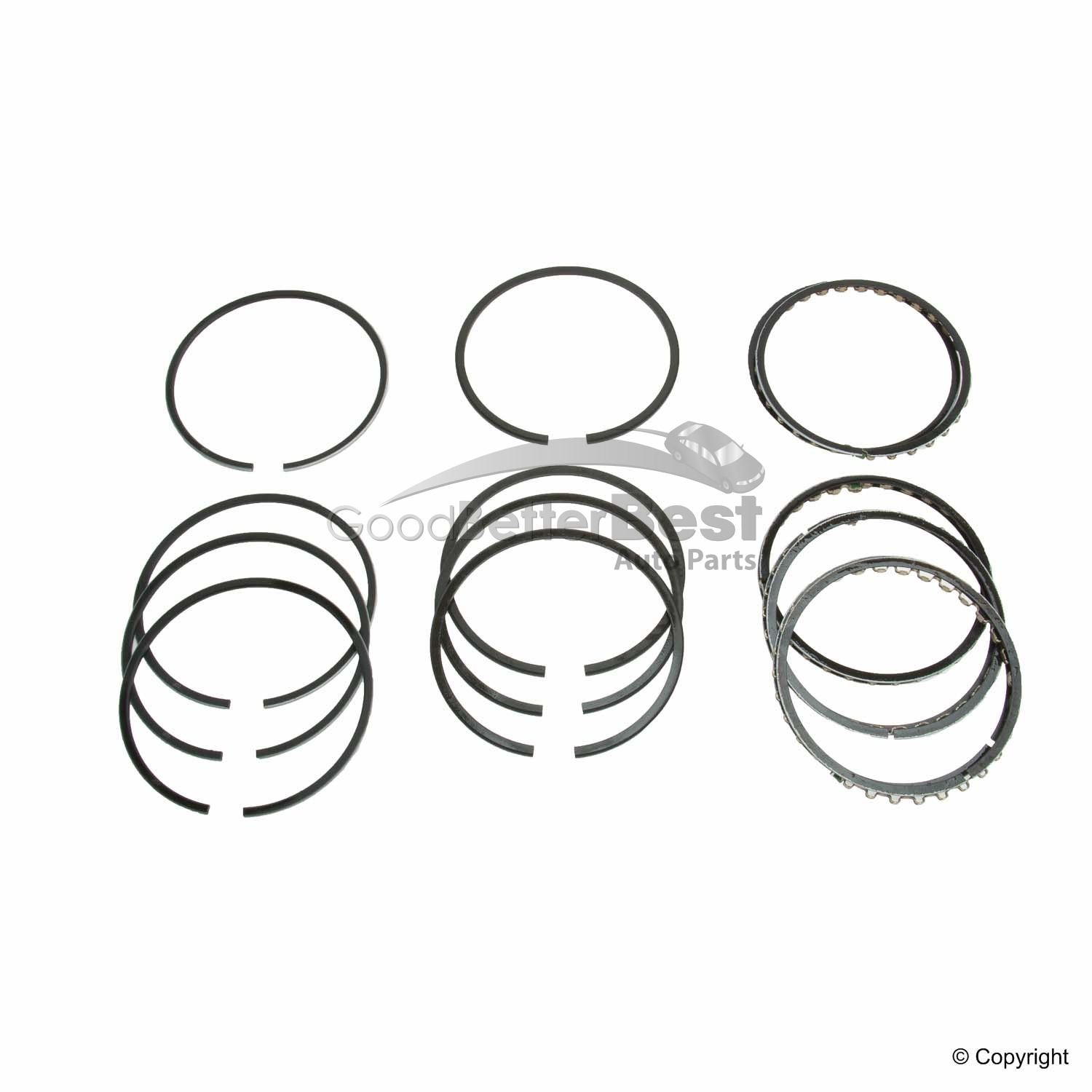 New Grant Engine Piston Ring Set C For Volvo 142 144
