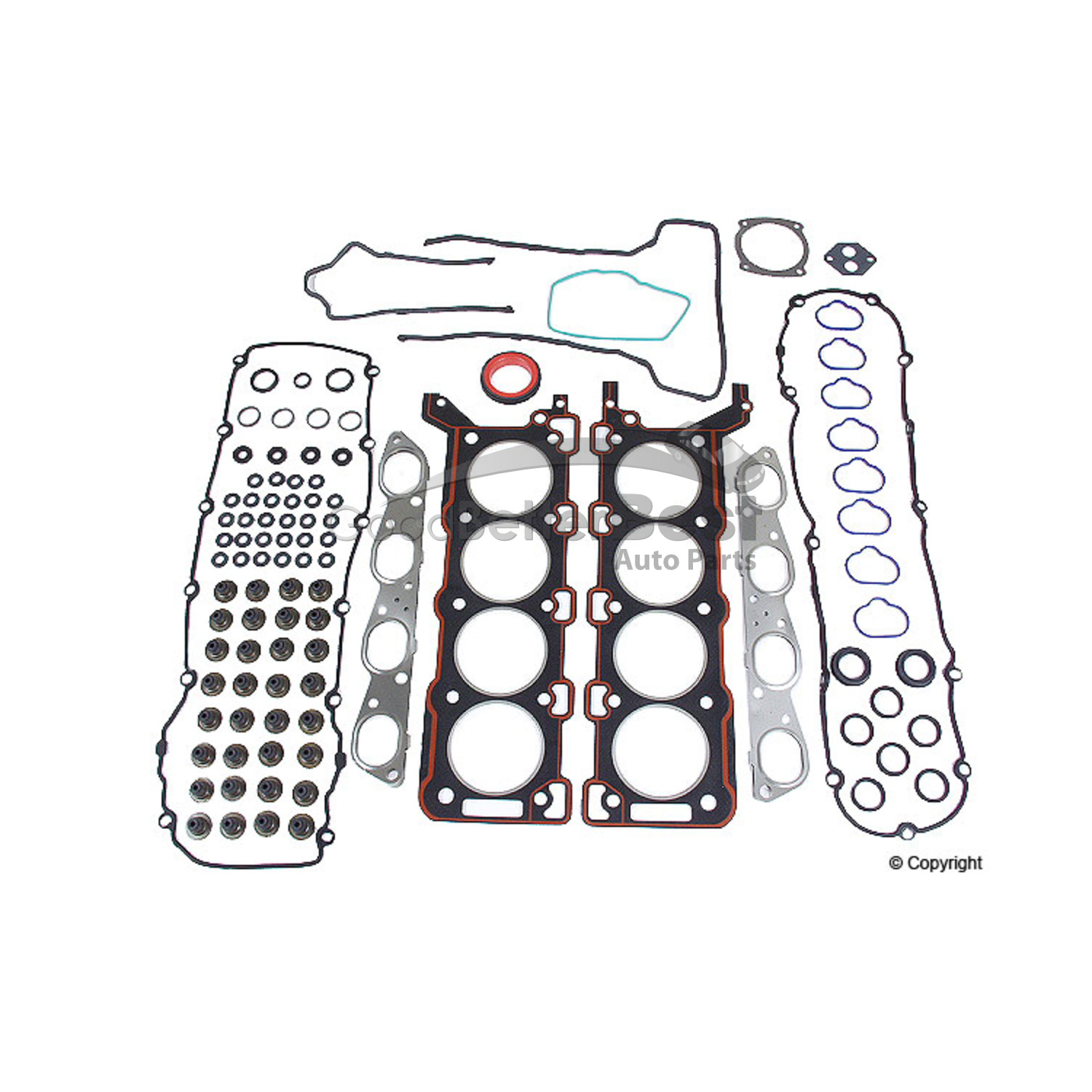New Eurospare Engine Cylinder Head Gasket Set Jlm X