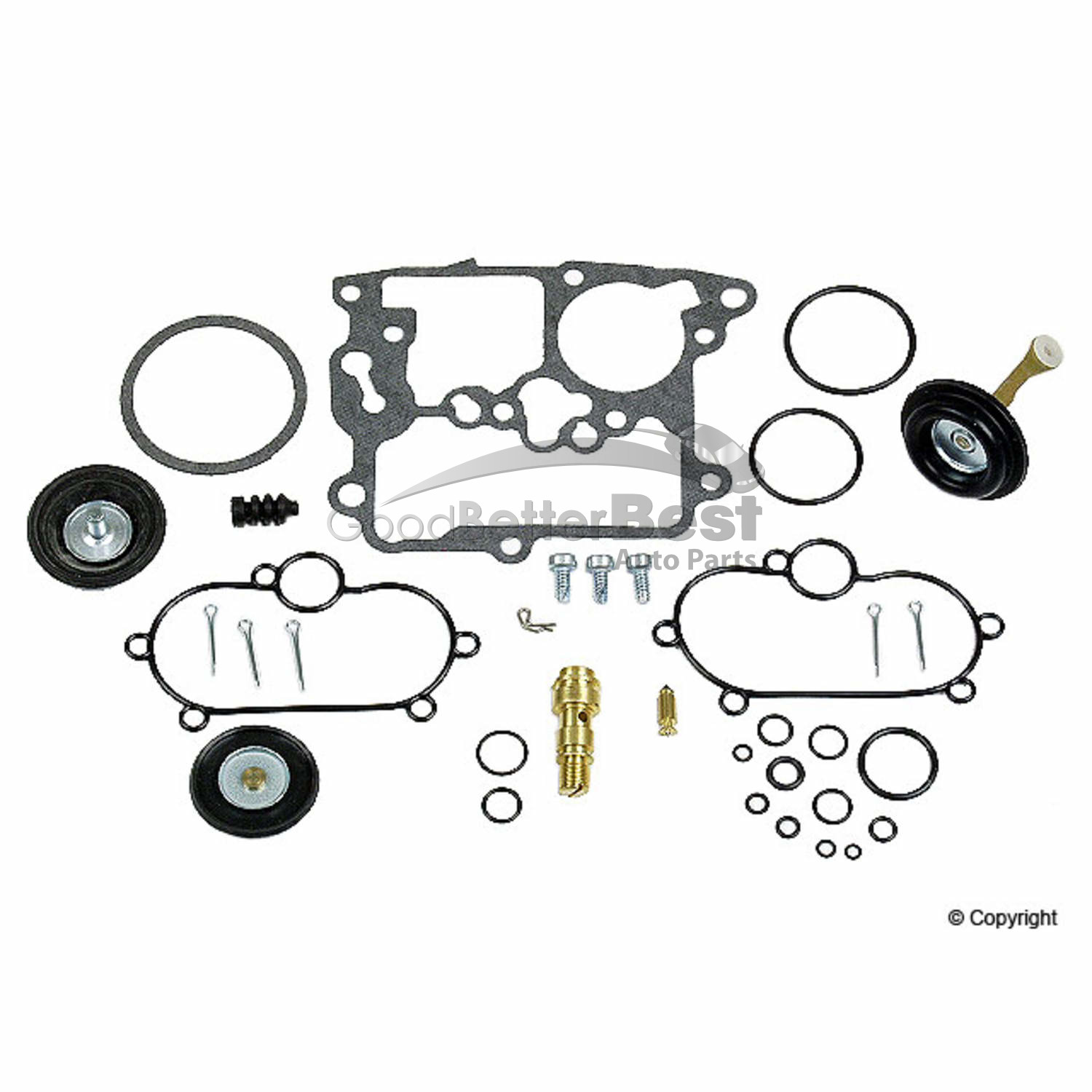 New Walker Products Carburetor Repair Kit For Honda