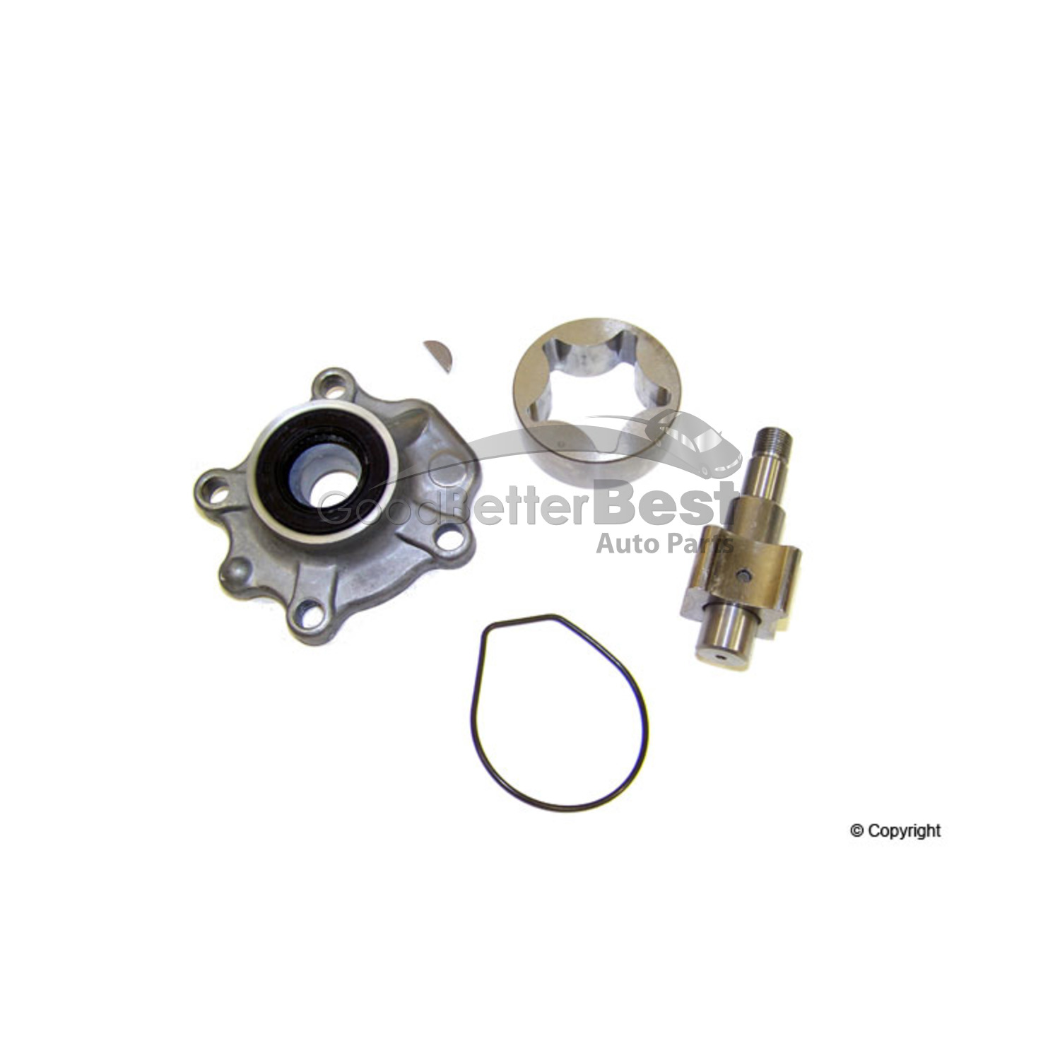 One New Rock Engine Oil Pump Op305 For Honda