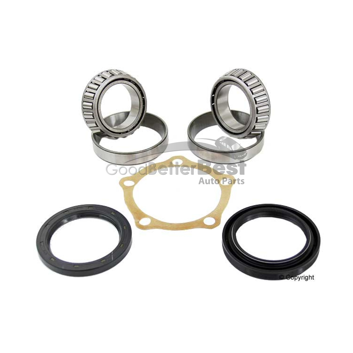 New Skf Wheel Bearing Kit Front Wkh For Land Rover