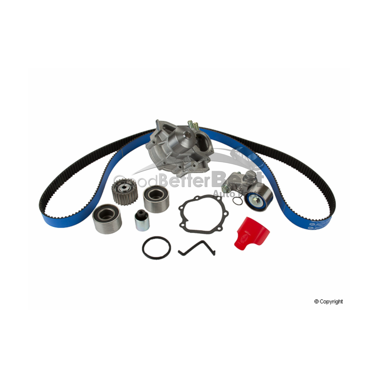 New Gates Engine Timing Belt Kit With Water Pump
