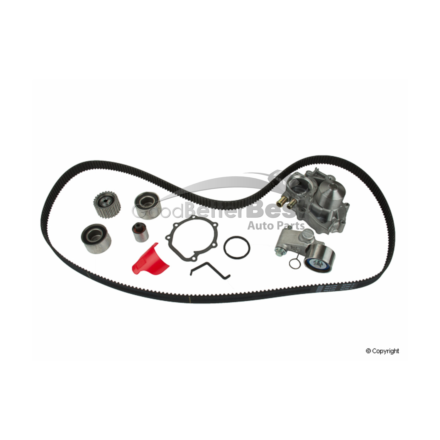 New Gates Engine Timing Belt Kit With Water Pump Tckwp328