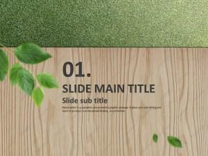 Wood PowerPoint Template   Goodpello
