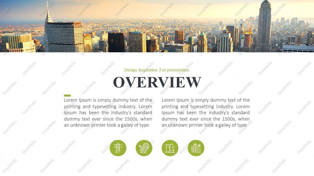 City Company Profile PPT Template Goodpello