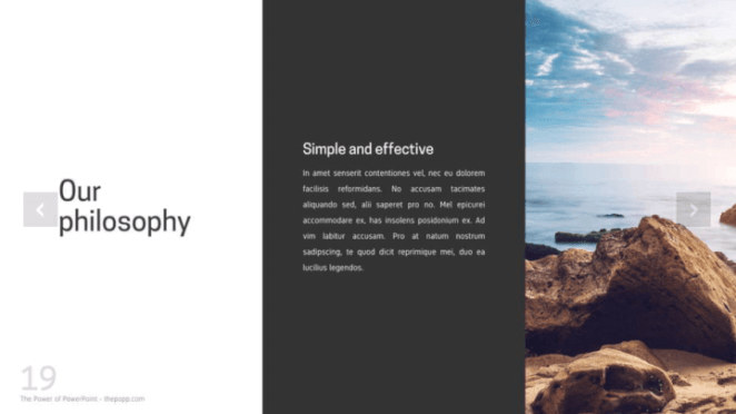 Company profile PowerPoint template