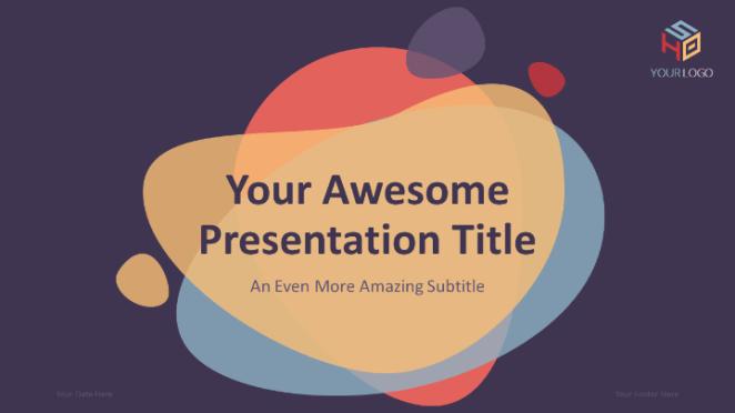 Bubbler PowerPoint template