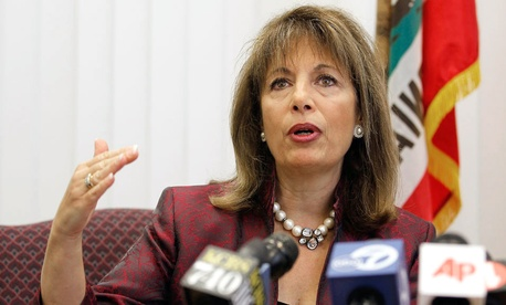 Rep. Jackie Speier, D-Calif., a federal employee advocate, joined the call Friday.