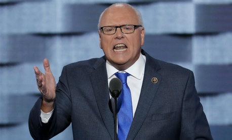 """The hiring freeze and [Trump's] so-called budget are sick jokes they play on American politics, until they're not,"" said Rep. Joe Crowley, D-N.Y."