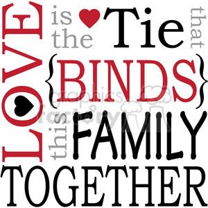 Family Love Clipart