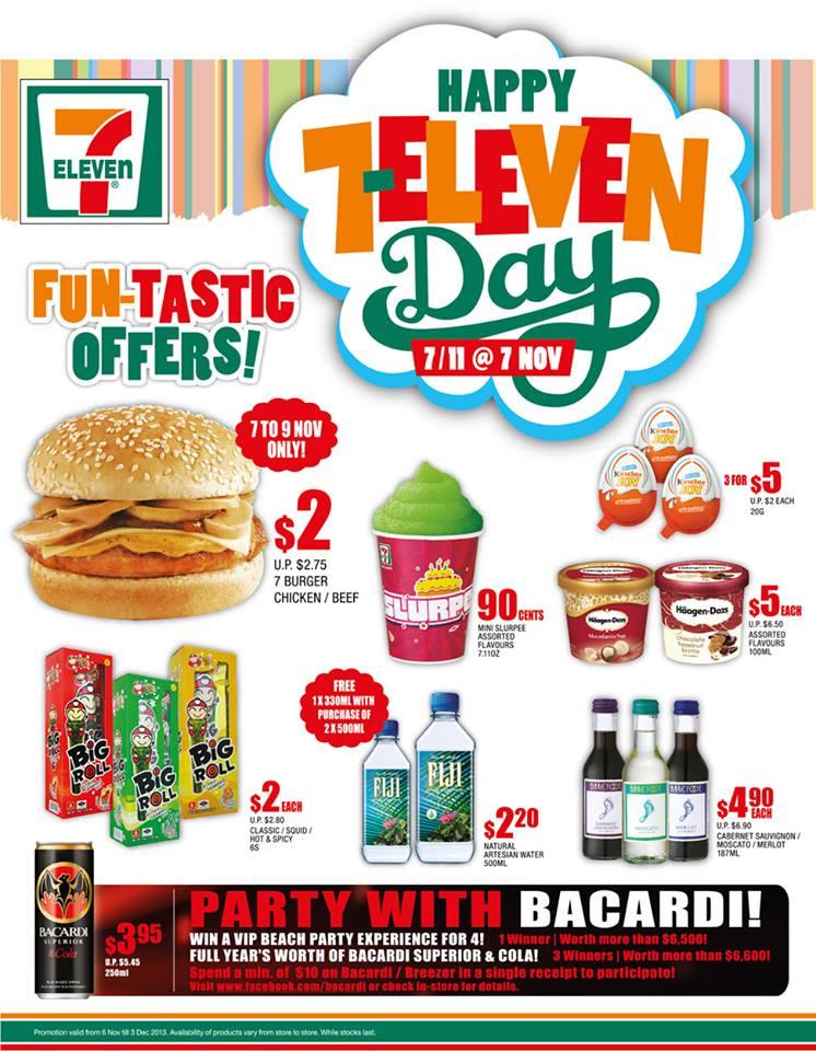 7 Eleven Singapore Celebrates 7 Eleven Day With Fun Tastic