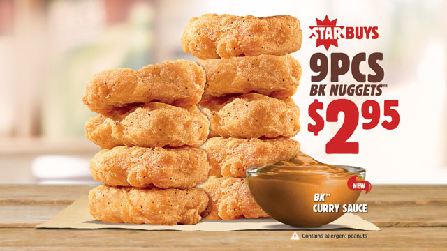 Image result for 9 piece nuggets burger king