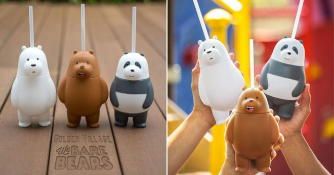 Ultra-adorable 'We Bare Bears' Tumblers are coming to Golden Village on March 15