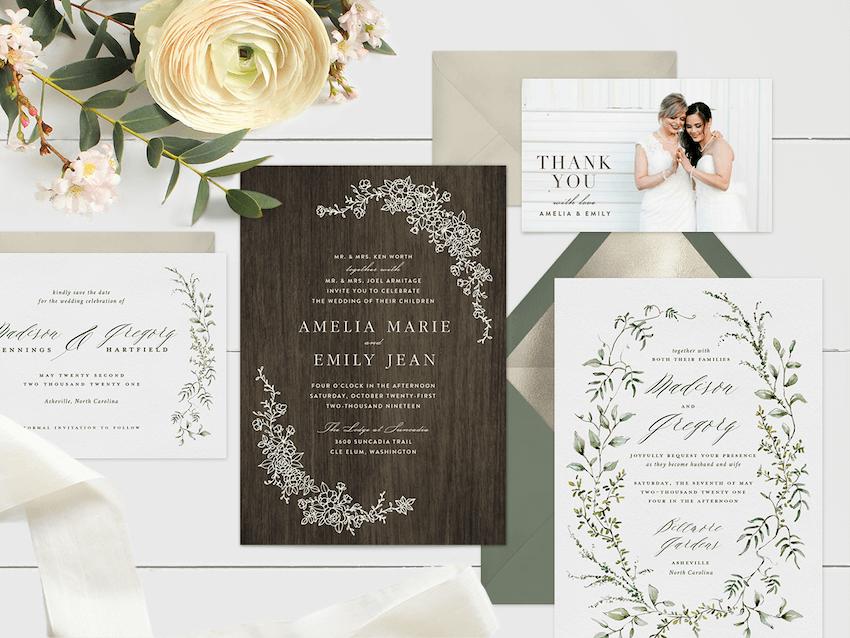 these online wedding invitation ideas
