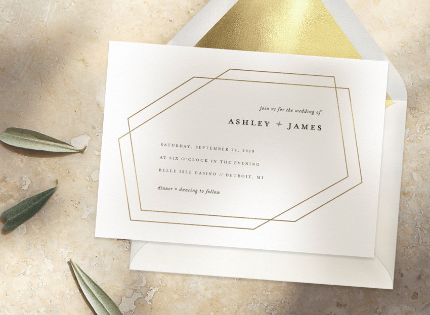 simple wedding invitations that will