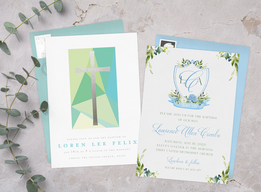 15 baptism invitations to bless your