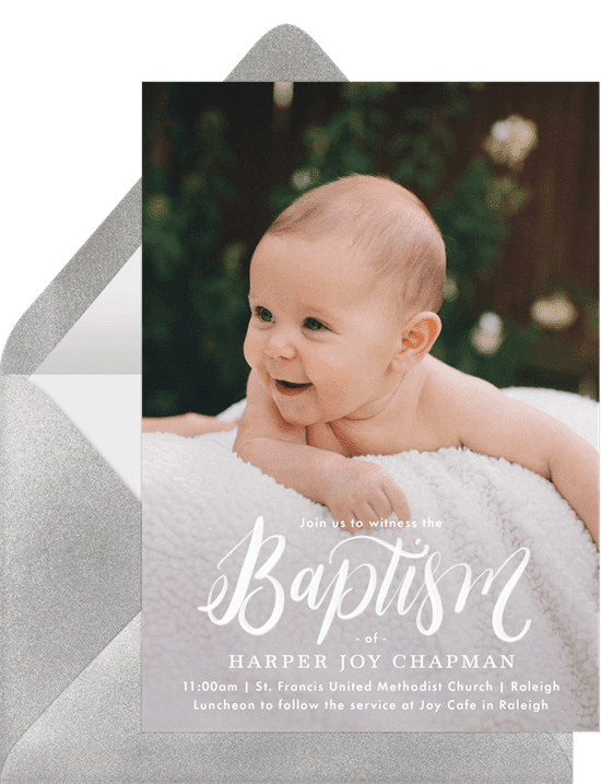 baptism invitation plus 9 designs