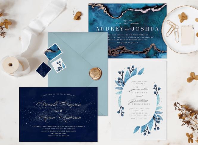 12 Winter Wedding Invitations To Match