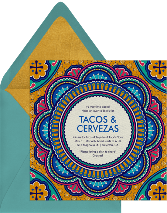 spanish tile invitations greenvelope com