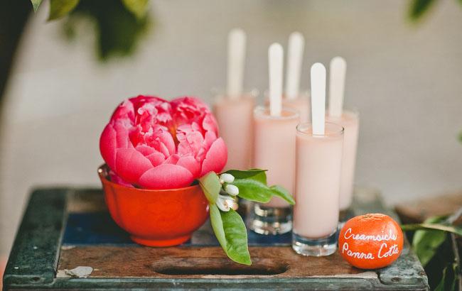 pink milkshakes