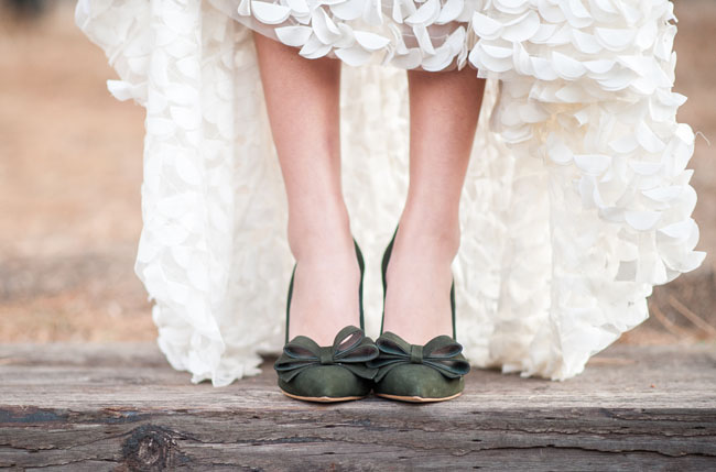 Burgundy Bridal Shoes
