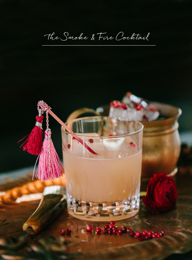 the smoke + fire cocktail