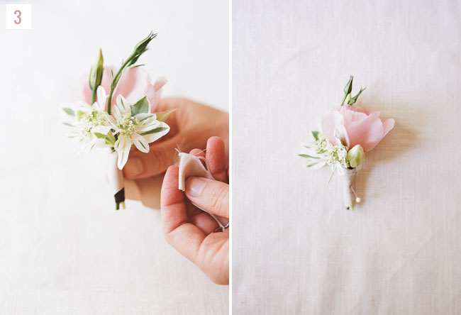 DIY summer boutonniere