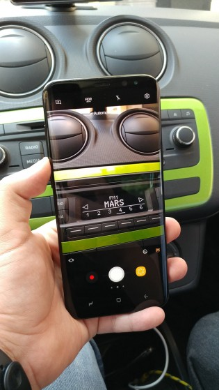 Samsung Galaxy S8+ camera
