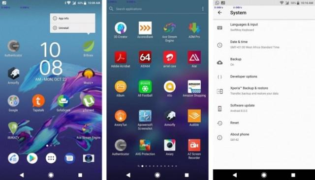 Sony Xperia XZ Premium ganha a atualização Android 8.0 Oreo