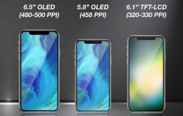 Apple pode lançar três novos celulares como o iPhone X em 2018