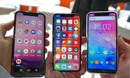 The notch is spreading for no good reason: the MWC was rife with iPhone X lookalikes