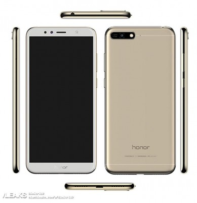Huawei Honor 7A (leaked image)