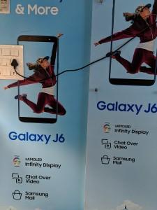 Galaxy J6 retail box