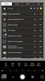 Settings galore from within the app itself - go figure