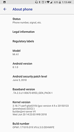 How to update Xiaomi Mi A1 to 8.1 - Things You Must No 7