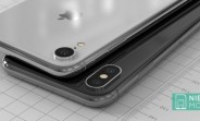 Budget 6.1-inch iPhone envisioned next to iPhone X in high-quality renders