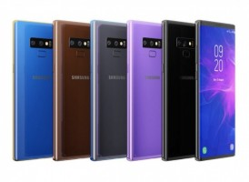Note9's supposedly available colors