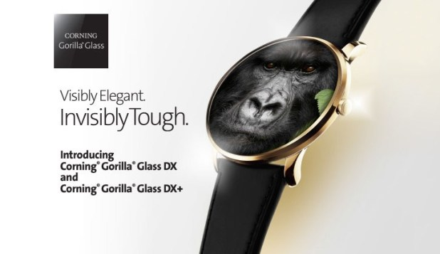 Gorilla Glass DX and DX+ for wearables unveiled: they cut reflectivity by 75%