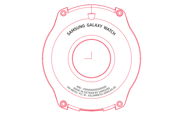 Samsung Galaxy Watch gets FCC certified, we get a schematic and some specs