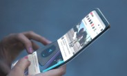Samsung's foldable smartphone gets portrayed in concept renders