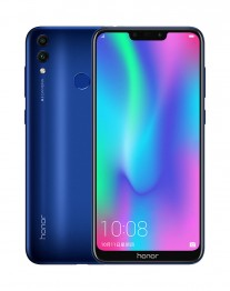 Honor 8C in Aurora Blue