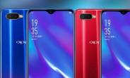 Oppo K1 goes official with in-display fingerprint scanner