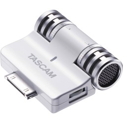 Stereo mic that uses the 30-pin connector
