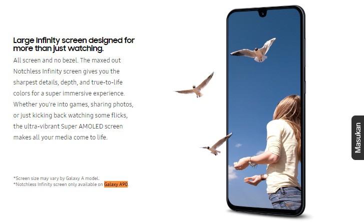 Samsung confirma Infinity Display para o Galaxy A90 1