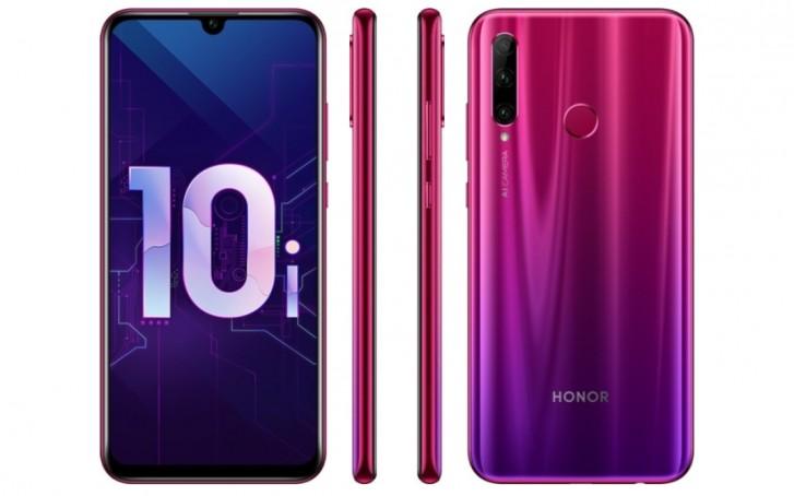 Honor 10i revelado na Rússia: é um Honor 10 Lite com mais câmaras de alta resolução 1