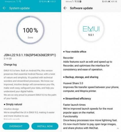 Huawei P10 recebe actualização para Android 9.0 Pie 1