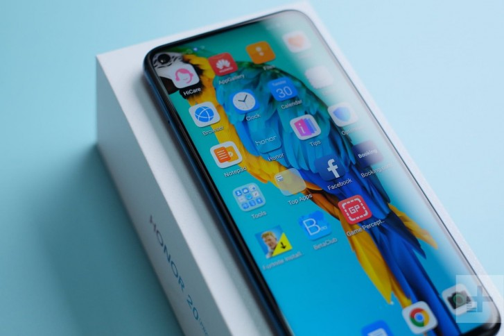 Honor 20 Pro Will Feature A Punch Hole CameraOn The Front